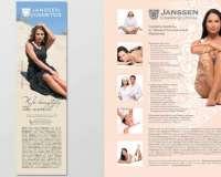 Рекламные материалы Janssen Cosmetics