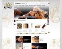Сайт компании Europa hair studio