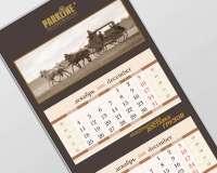 Квартальный календарь Parkline